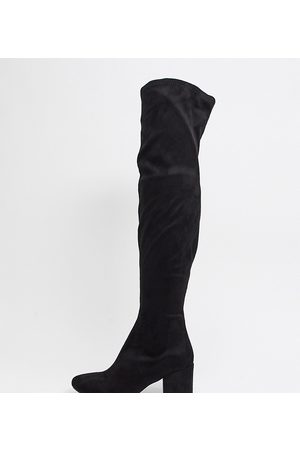 Raid Wide Fit Kola round toe over the knee boots