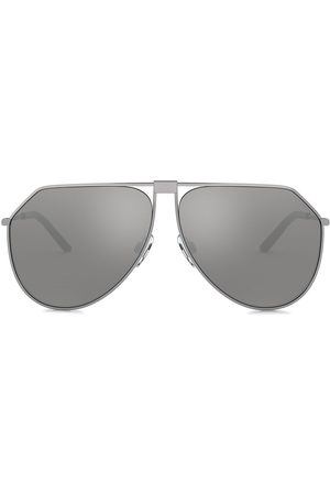 Dolce & Gabbana Slim aviator sunglasses - Grey