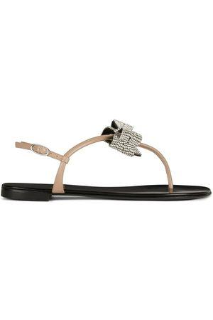 Giuseppe Zanotti Women Sandals - Embellished bow sandals