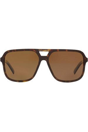 Dolce & Gabbana Men Aviators - Angel aviator-frame sunglasses