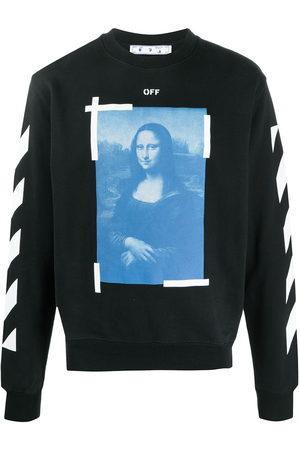 OFF-WHITE Men Sweatshirts - Mona Lisa print sweatshirt