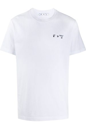 OFF-WHITE Chest embroidered logo T-shirt
