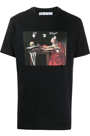 OFF-WHITE Caravaggio Painting crew-neck T-shirt