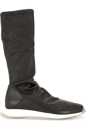 Rick Owens Square-toe knee-length boots