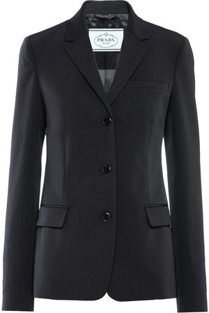 Prada Women Jackets - Single-breasted fitted jacket