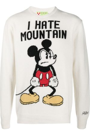 MC2 SAINT BARTH Angry Mickey knitted jumper