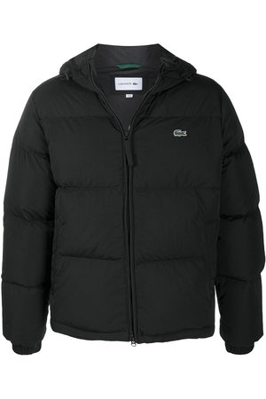 Lacoste Feather down hooded jacket