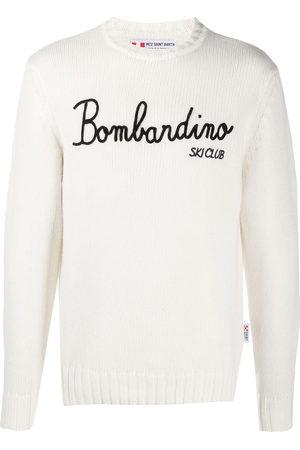 MC2 SAINT BARTH Bombardino embroidery rib-trimmed jumper