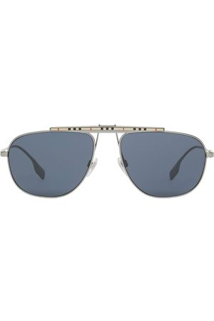 Burberry 4081454 aviator-frame sunglasses - Grey
