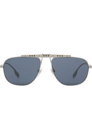 Burberry 4081454 aviator-frame sunglasses - Grey