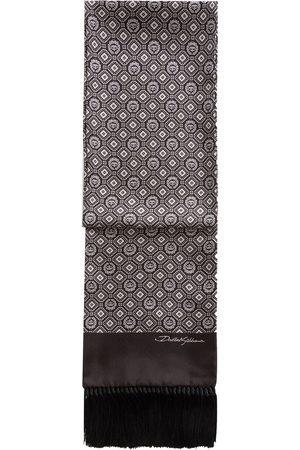 Dolce & Gabbana Patterned silk scarf