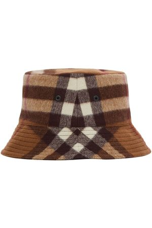 Burberry Check-pattern bucket hat
