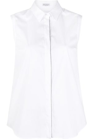Brunello Cucinelli Sleeveless button-down shirt