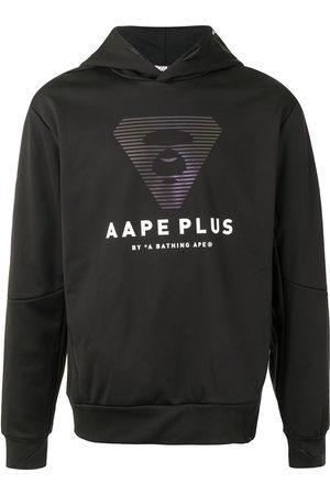 AAPE BY *A BATHING APE® Men Hoodies - Logo-print side-zip hoodie