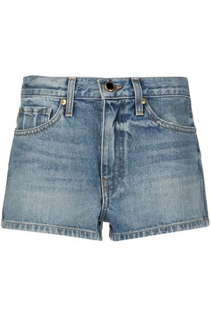 Khaite Santa Cruz denim shorts