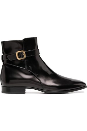 Tod's Men Ankle Boots - Buckle-detail ankle boots