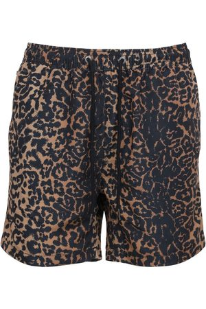 KSUBI Men Swim Shorts - Prowler Leopard Printed Boardshorts