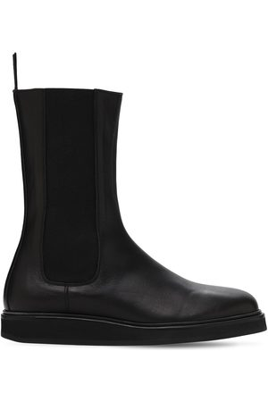 LEGRES Women Chelsea Boots - 20mm Leather Chelsea Boots