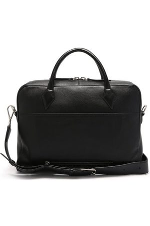 Métier Men Laptop Bags - Closer Leather Briefcase - Mens