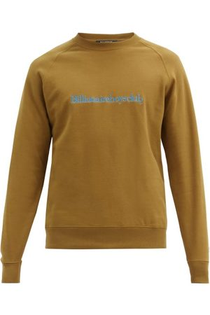 Billionaire Boys Club Men Sweatshirts - Logo-embroidered Cotton-jersey Sweatshirt - Mens - Khaki