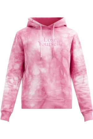 Paco rabanne Lose Yourself-print Tie-dye Cotton Sweatshirt - Mens