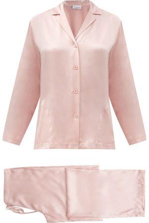 La Perla Women Pajamas - Silk-satin Pyjamas - Womens - Light