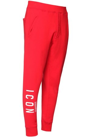 Dsquared2 Men Sweatpants - Dean Fit Icon Printed Jersey Sweatpants
