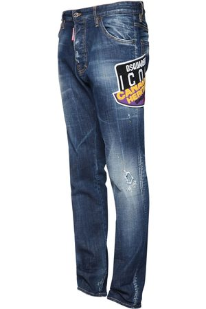 Dsquared2 16.5cm Icon Patch Cool Guy Denim Jeans