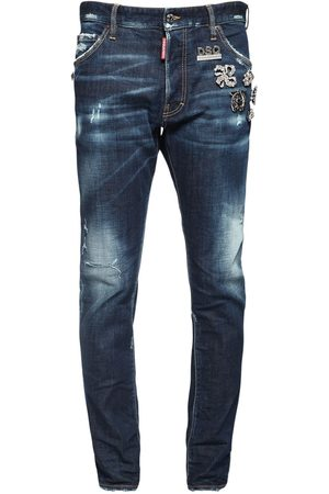 Dsquared2 16.5cm Cool Guy Denim Jeans W/ Pins