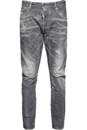 Dsquared2 17cm Tidy Biker Stretch Denim Jeans