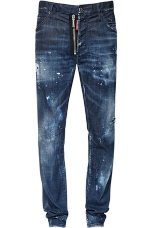 Dsquared2 16.5cm Zip Cool Guy Cotton Denim Jeans