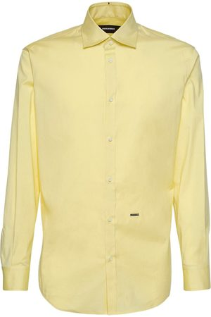 Dsquared2 Relax Dan Stretch Cotton Poplin Shirt