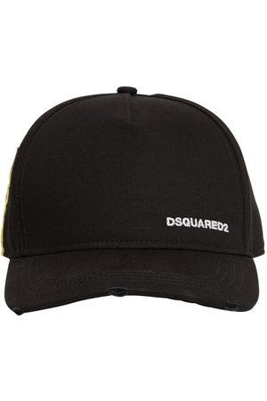 Dsquared2 Tag Cotton Gabardine Cap