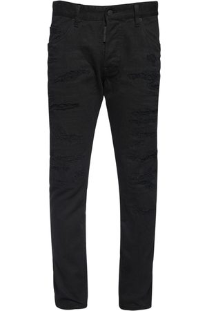 Dsquared2 Men Jeans - 16cm Skater Bull Destroyed Denim Jeans