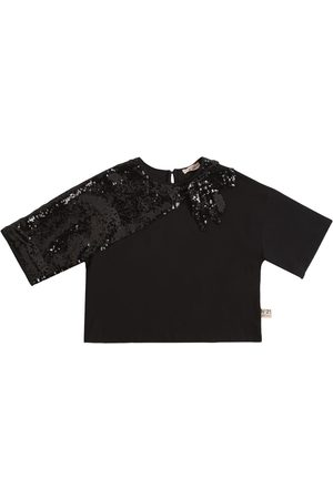Nº21 Sequins Cotton T-shirt