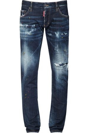 Dsquared2 17cm Anniversary Cotton Denim Jeans