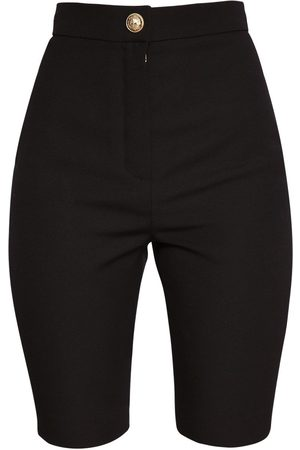 Balmain Wool Grain De Poudre Cycling Shorts