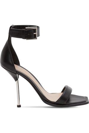 Alexander McQueen 105mm Leather Sandals