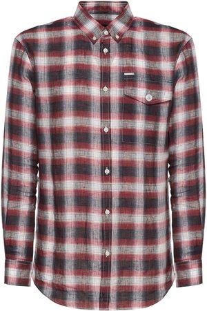 Dsquared2 Relax Dan Check Linen Shirt