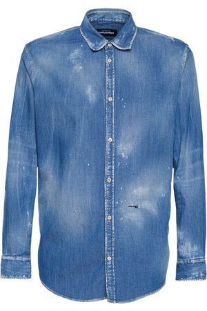 Dsquared2 Relax Dan Stretch Denim Shirt