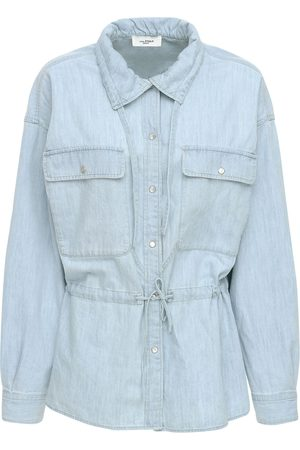 Isabel Marant Madras Light Denim Shirt