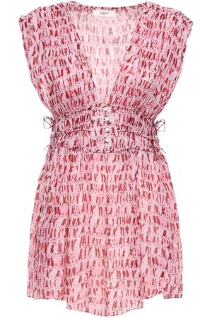 Isabel Marant Segun Chiffon Mini Dress