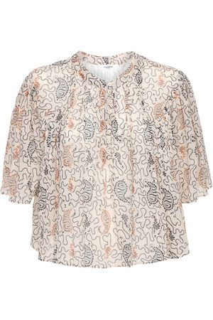 Isabel Marant Algari Printed Cotton Shirt