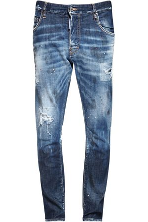 Dsquared2 Men Jeans - 16cm Skater Cotton Denim Jeans