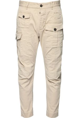 Dsquared2 16cm Sexy Cargo Cotton Twill Pants