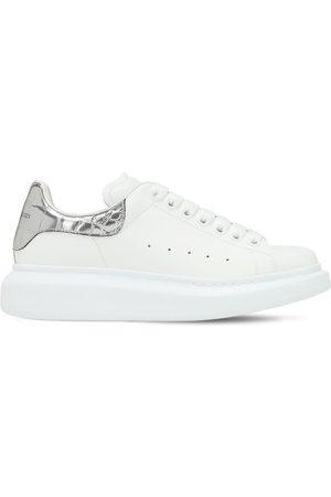 Alexander McQueen 45mm Platform Leather Sneakers