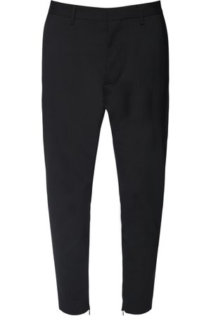 Dsquared2 14cm Skinny Dan Stretch Wool Pants