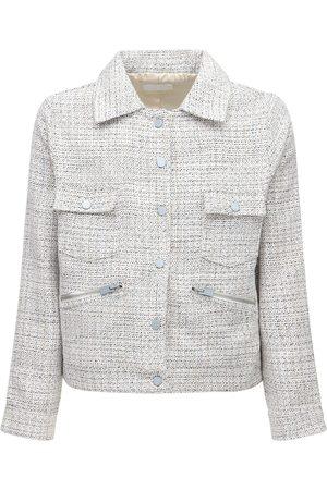 FLANEUR HOMME Tweed Jacket W/ Lurex
