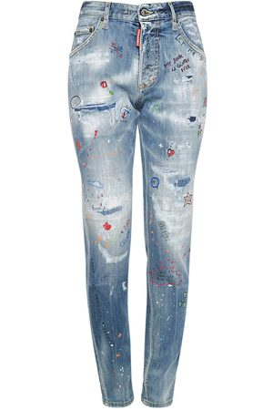 Dsquared2 Women Skinny - Skinny Dan Cotton Stretch Jeans