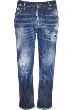 Dsquared2 Girls Stretch - Cool Girl Cropped Stretch Jeans